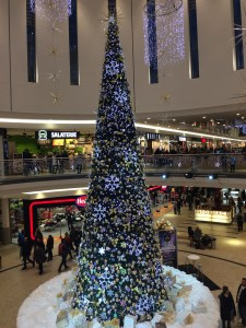 Christmas tree in a shopping mall 2