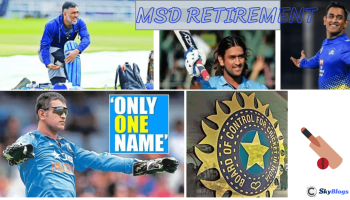 ms dhoni retirement from International cricket 2020