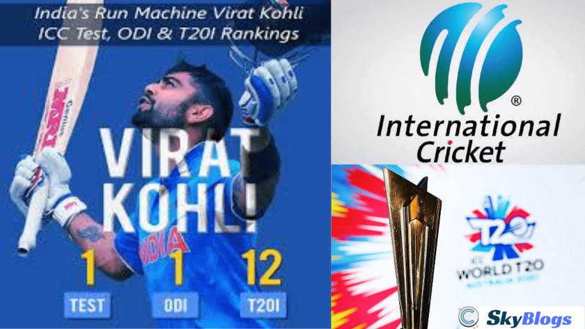 KOHLI'S T20 RANKING
