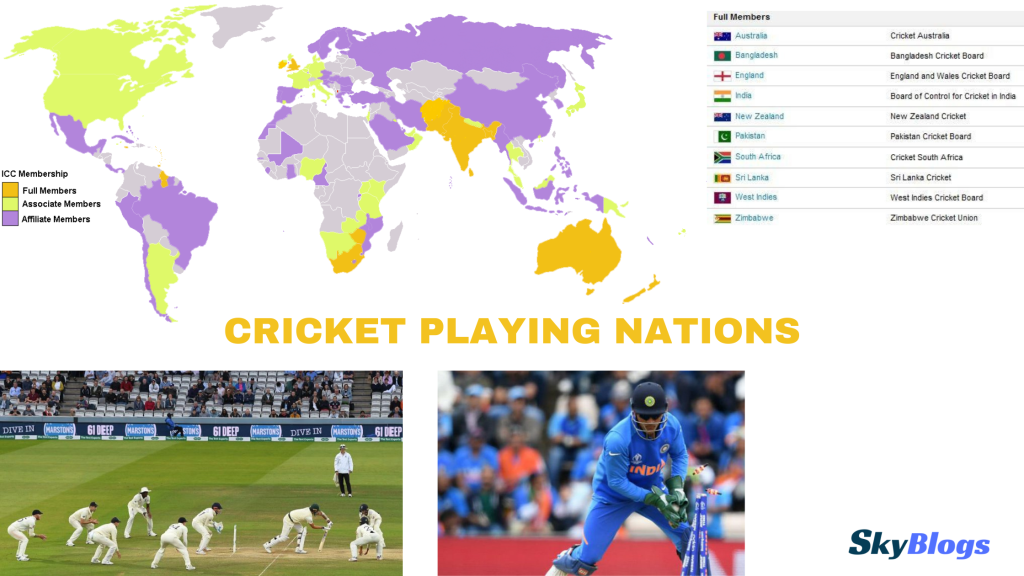 Cricket playing nations