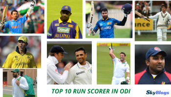 TOP 10 RUN SCORER IN ODI
