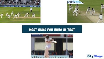 Most Runs For India In Test