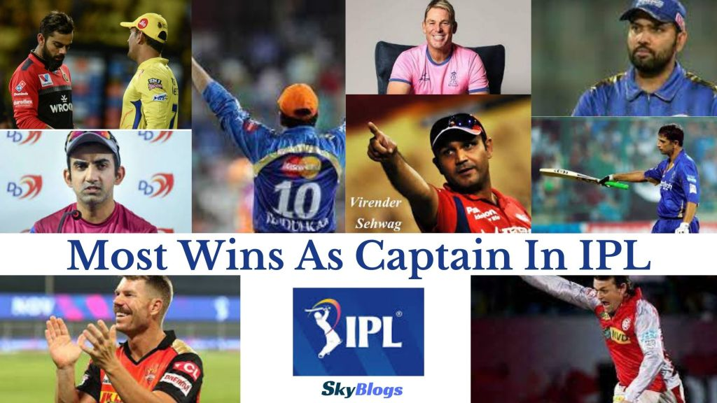 Most Wins As Captain In IPL skyblogs cricket pic