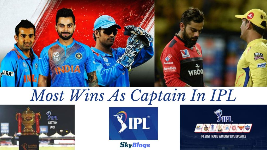 Most Wins As Captain In IPL