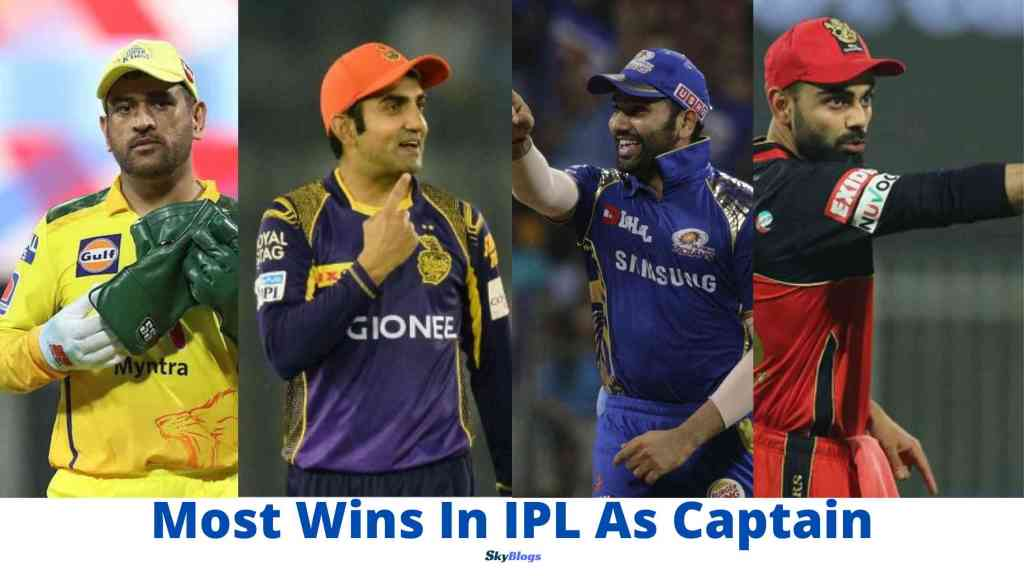 Most Wins In IPL As Captain