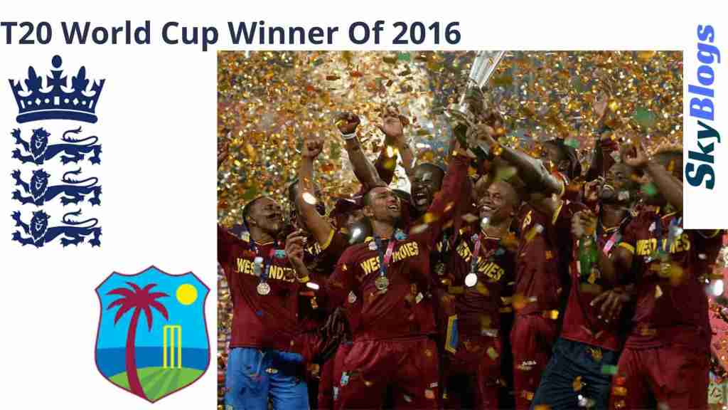 West Indies Won The T20 World Cup for the 2nd time