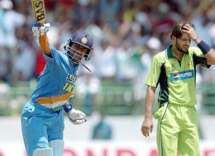 On this day in 2005, MS Dhoni Smashed his first International Century