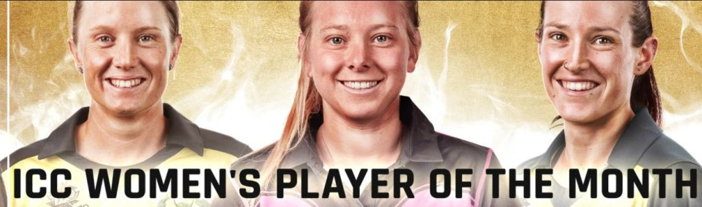 women's player of the month of april