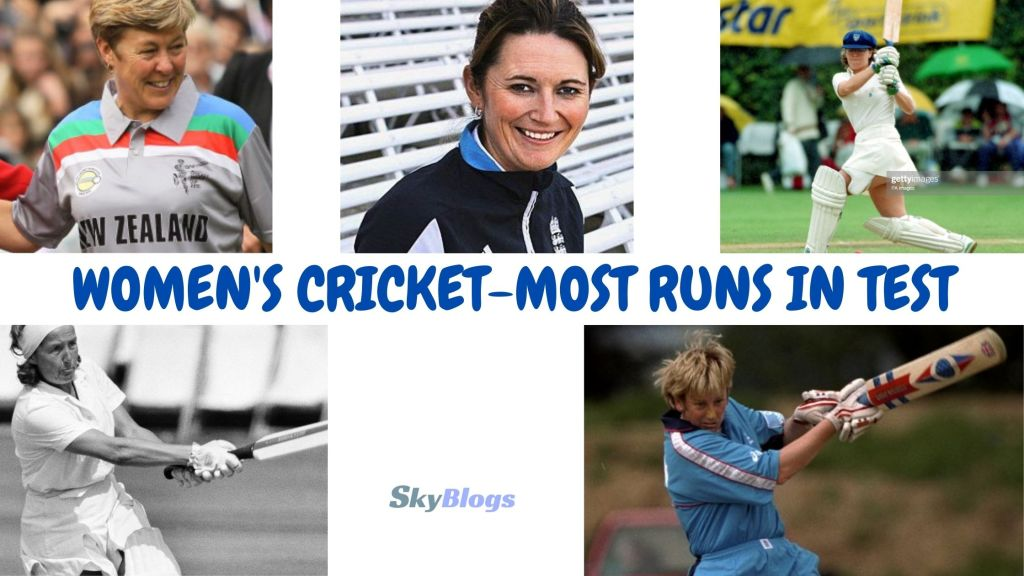 Most Runs In Tests In Women's Cricket