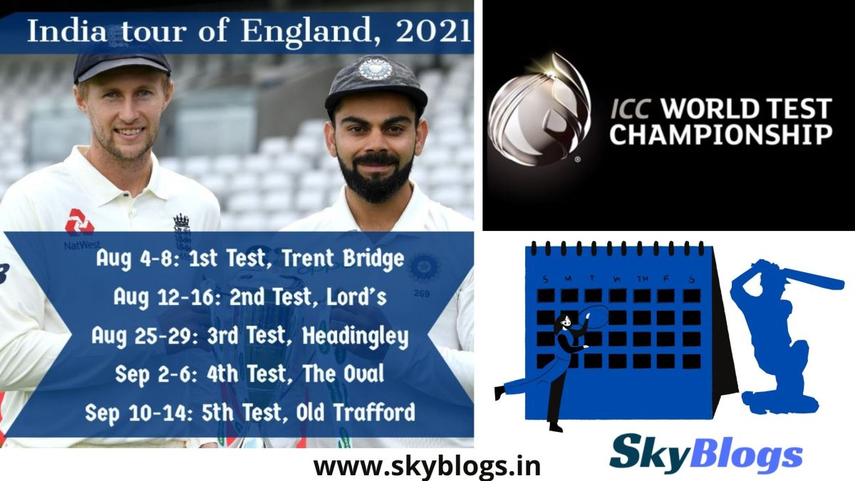 England Tour & World Test Championship