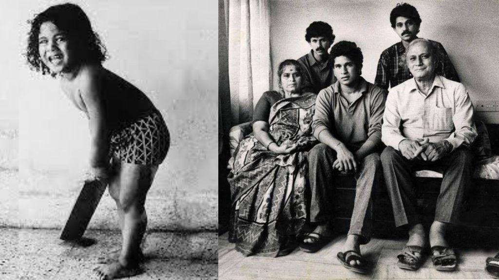 Sachin tendulkar 's childhood