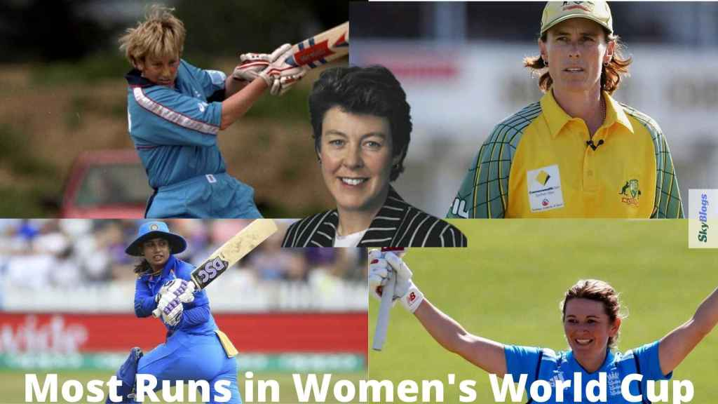 Most Runs in Women's World Cup