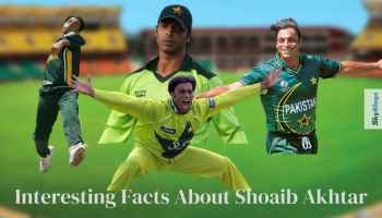 Interesting Facts About Shoaib Akhtar