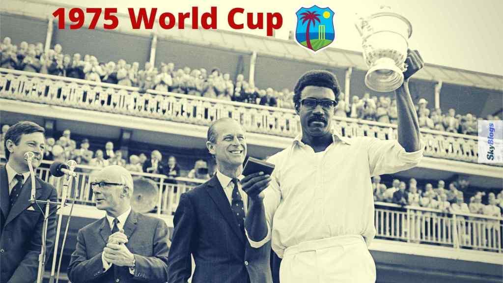 1975 World Cup Winners List