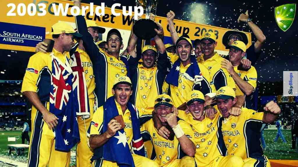 icc cricket world cup 2003 winner was australia