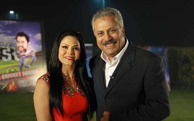 Zaheer Abbas and Rita Luthra