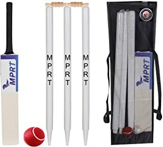 MPRT Wooden Cricket Kit For Tennis Ball Combo