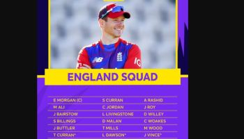 England Squad For T20 World Cup 2021