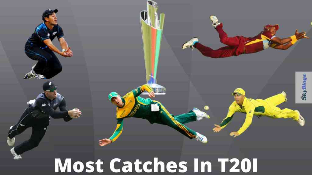 Most catches In T20 World Cup