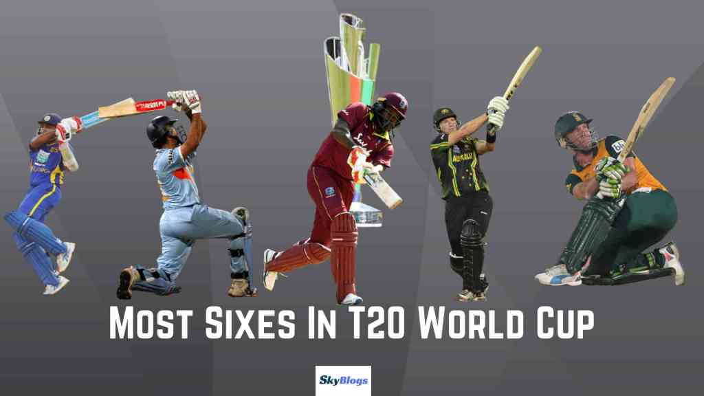 Most Sixes In T20 World Cup