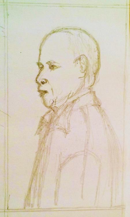 portrait pencil