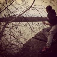 mariah at the lake