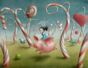 Candy-Forest-by-Nicoletta-Ceccoli