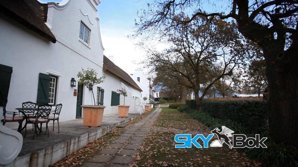 Vrede En Lust Wine Estate Stellenbosch South Africa Skybok Video Profiling
