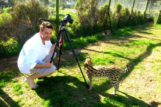 Shooting African Dawn Wildlife Sanctuary in Jeffrey's Bay