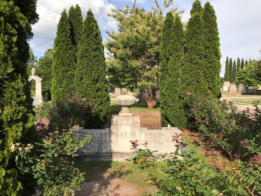 Margaret Mitchell Oakland Cemetery Grave