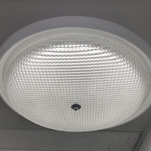 round skylight diffuser vented