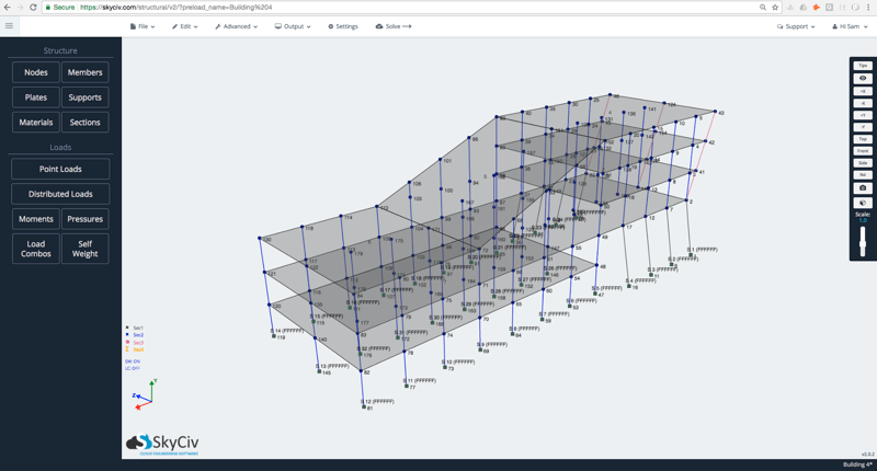 Structural Frame Analysis Software Free | Amtframe org