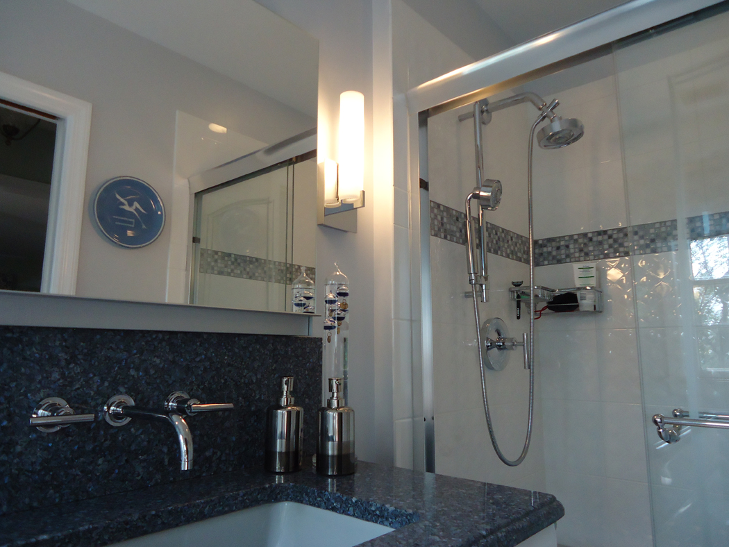 Modern Bathroom Remodel for Michael and Marianne in