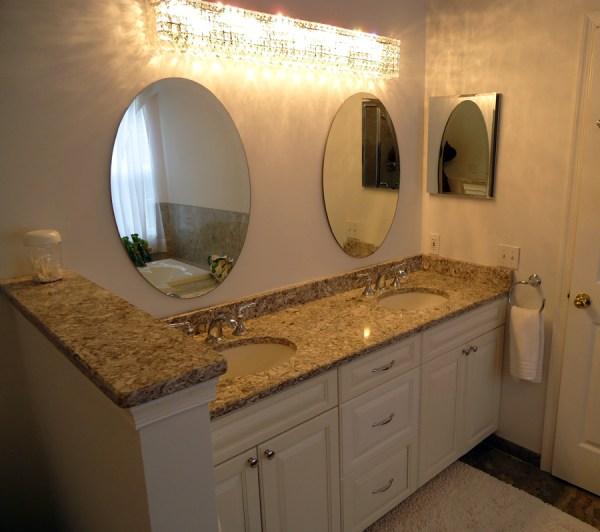 Bridgewater Master Bath Remodel Features Gorgeous Granite ...