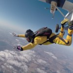 learn to skydive - aff training