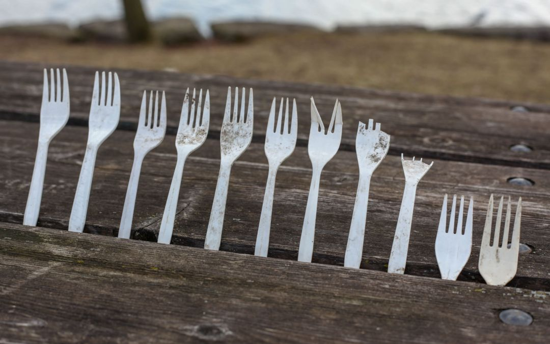 plastic cutlery degrading