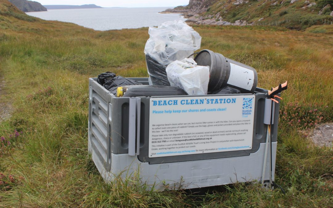 Community beach clean stations to tackle pollution