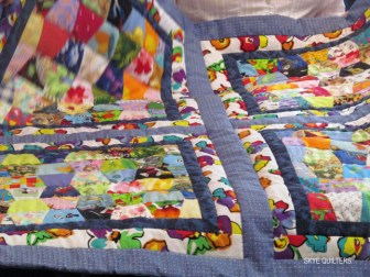 Close-up of Ruby's latest Linus quilt, bring her total ever closer to 140!