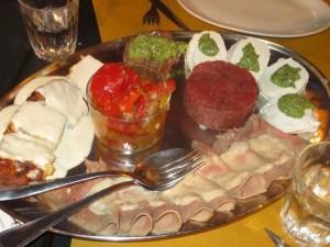 Antipasto at Cianci