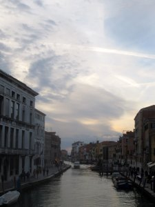 Beautiful Sky over Venice
