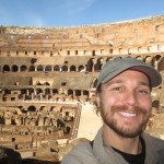 Selfie in Colosseum