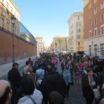 Line for Vatican City