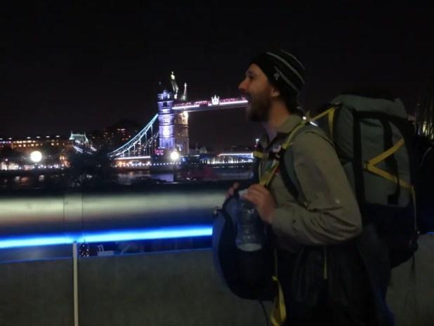 Eating Tower Bridge