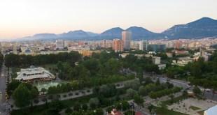 Tirana Skyline