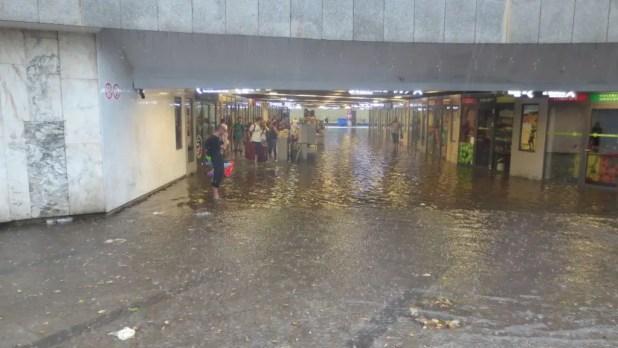Flooded Krakow Underground