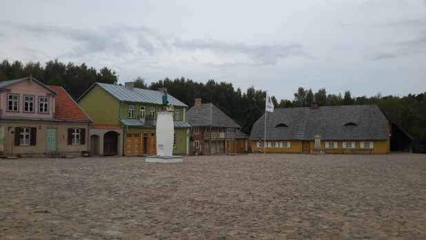 Open Air Museum village