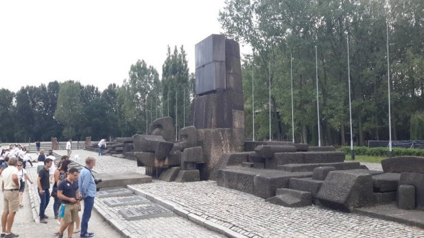 International Memorial Monument in Birkenau