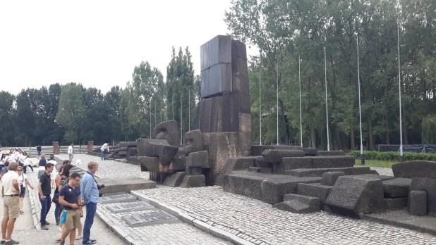International Memorial Monument in Birkenau