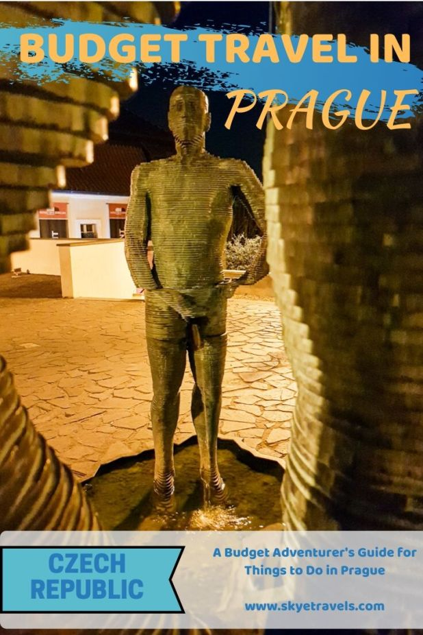 Prague, also known as Praha, Praga and Prag. For years I heard it was the most beautiful city in Europe. There are plenty of amazing things to do in Prague. #Prague #CzechRepublic #Czechia #BudgetTravel #Backpacking