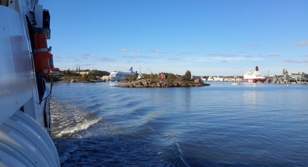 Ferry Ride to Suomenlinna Island